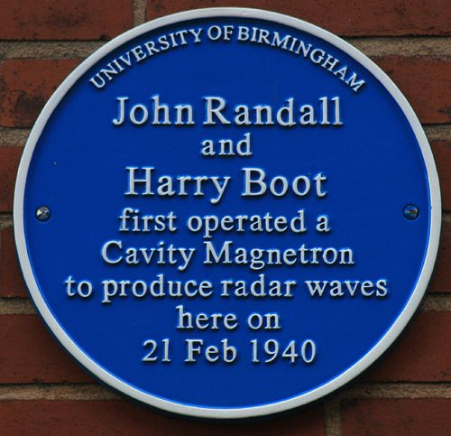 John Randall and Harry Boot