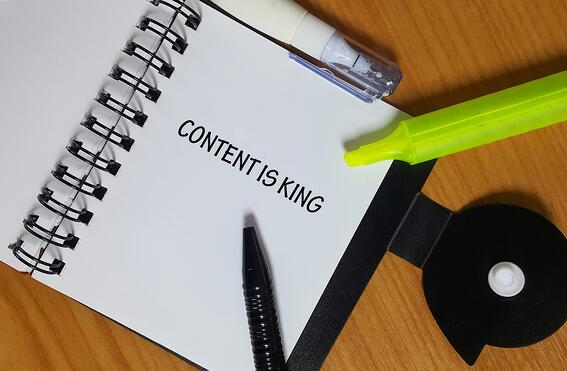 Content marketing tactics for industrial